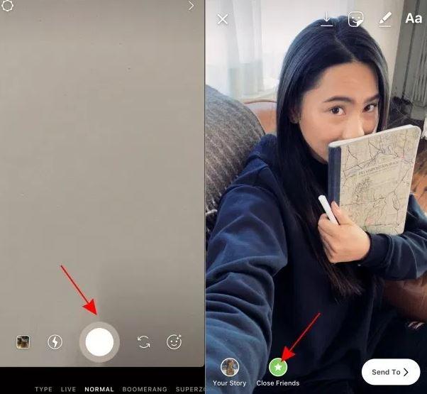 Cara Berbagi Instagram Stories Hanya Dengan Close Friends