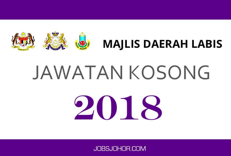 Jawatan Kosong Kerajaan 2018 Majlis Daerah Labis