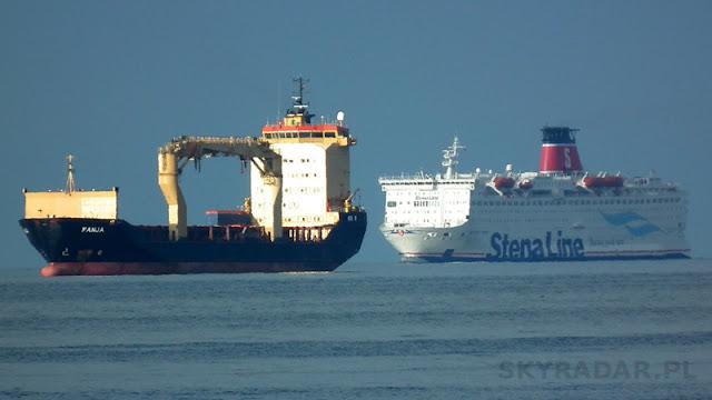 Radar statków. Mapa i ruch statków na żywo - śledzenie. Port Gdynia, Gdańsk, Świnoujście, Szczecin