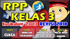 RPP Revisi 2018 Kelas 3 K13 Semester 2 Lengkap