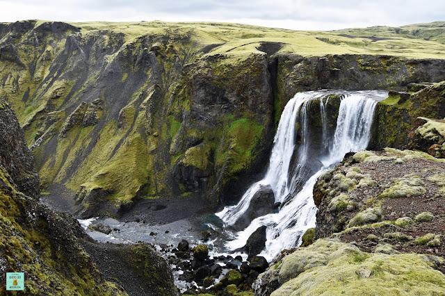 Fagrifoss, Islandia