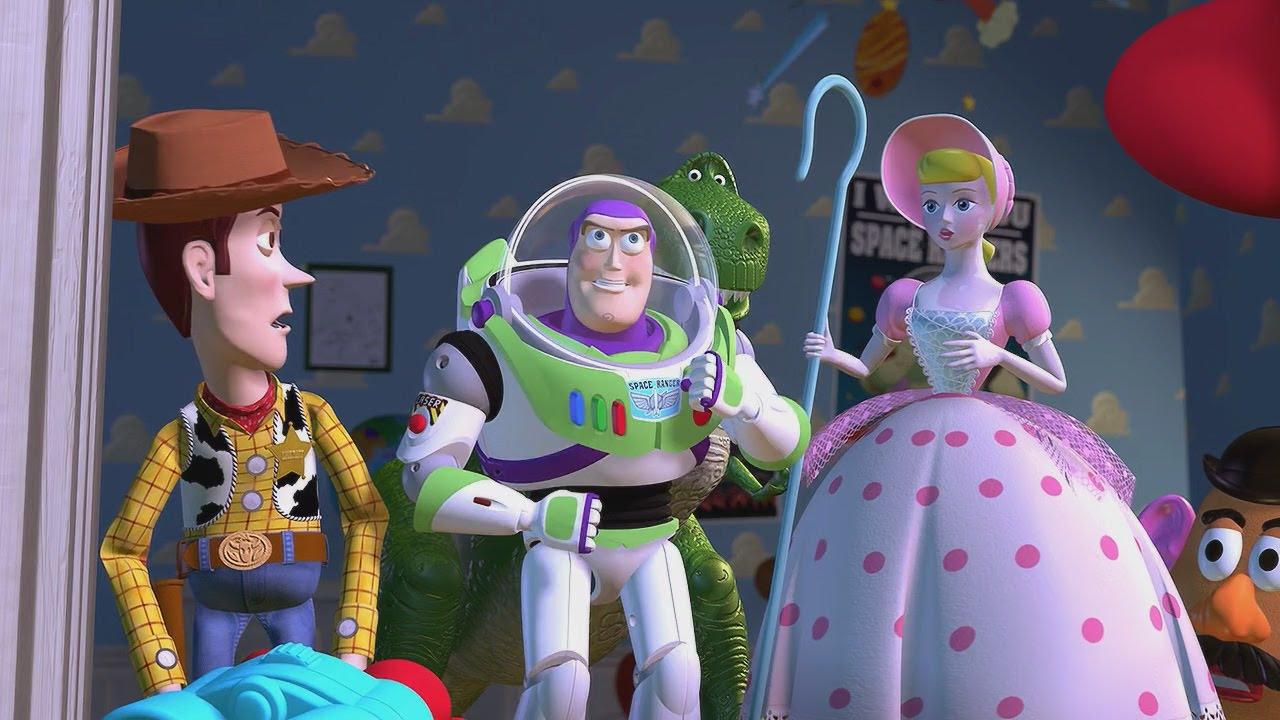 805. Lelulugu (Toy Story, USA, 1995) (Toy Story Head uued ja