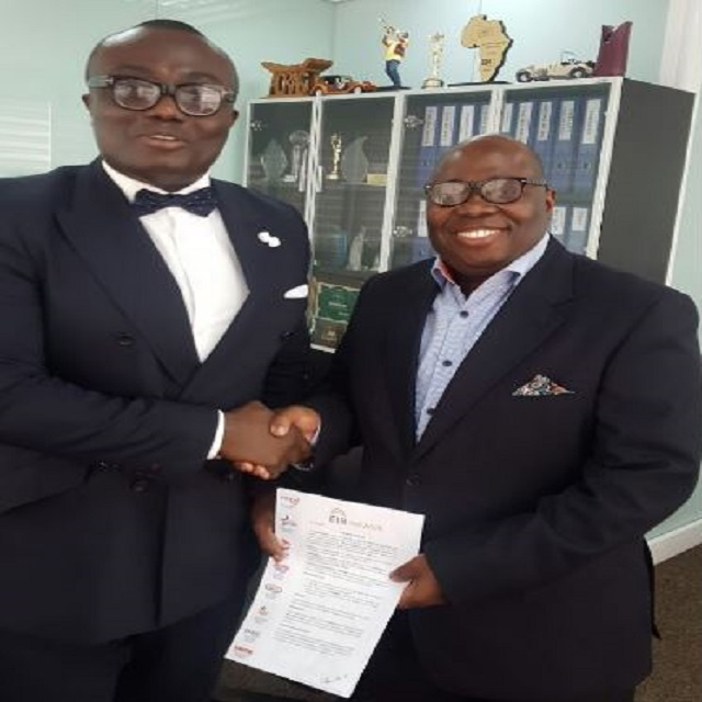 Bola Ray With Kwame Adinkra