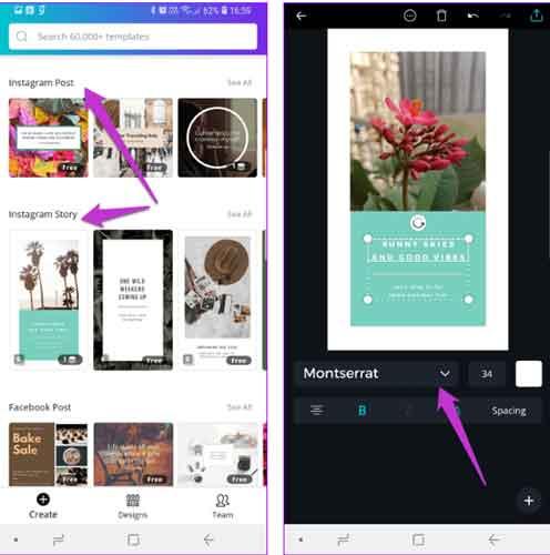aplikasi font terbaik androit untuk instagram