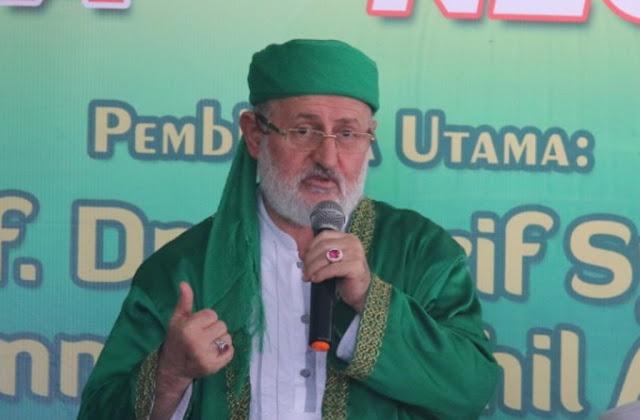 Syekh Fadhil al-Jilani: Semua Imam Mazhab Bertasawuf