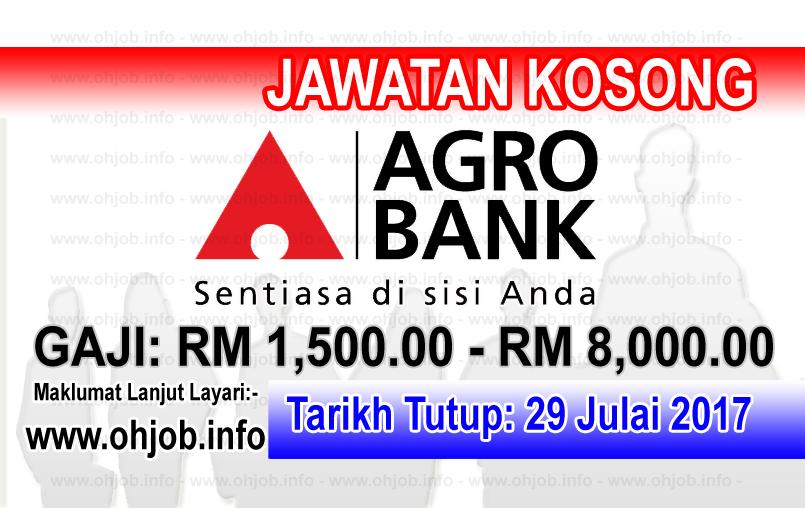 Jawatan Kerja Kosong AgroBank logo www.ohjob.info julai 2017