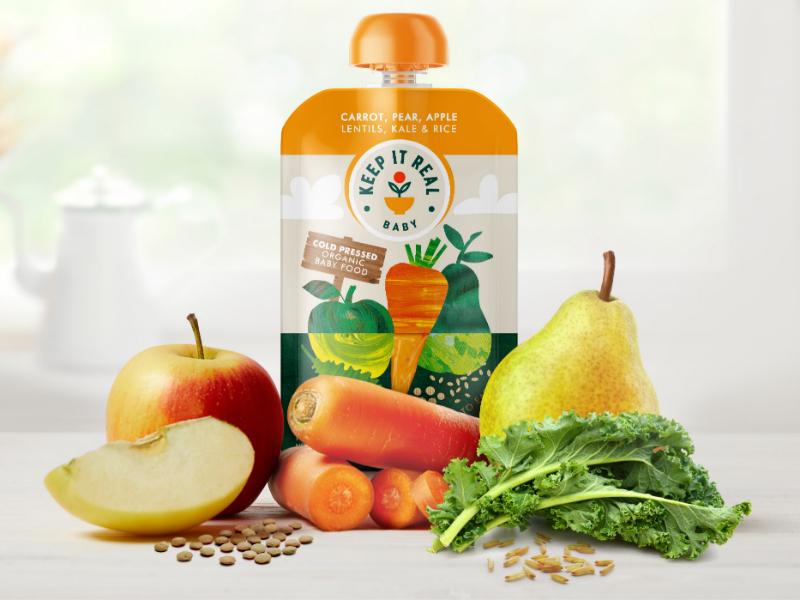 Keep It Real Baby - Fresh Organic Baby Food