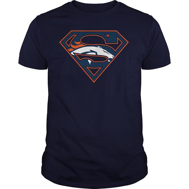 Denver Broncos Superman Logo Shirt