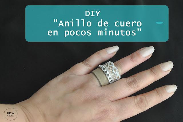 Aprende a hacer un anillo de cuero en pocos minutos