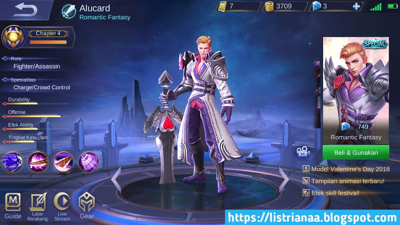 Build Alucard Terbaik Anti Stun Mobile Legends 2