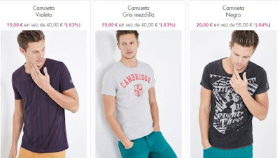 camisetas hombre pepe jeans
