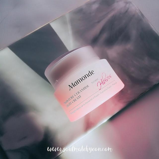 Review; Mamonde's Hibiscus Moisture Ceramide Light Cream