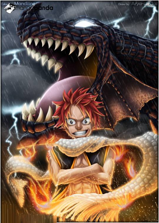 Fairy Tail Ch 401: Igneel vs Acnologia