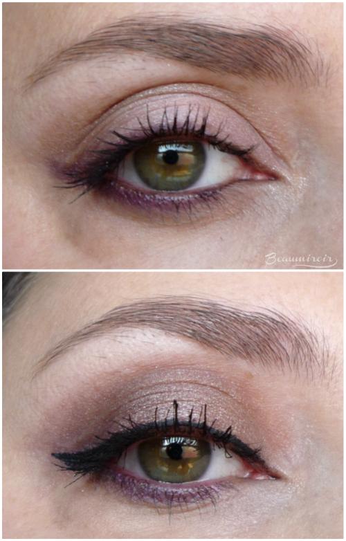 Wearing Lancome Sonia Rykiel Parisian Fresh Spirit eyeshadow palette eotd fotd