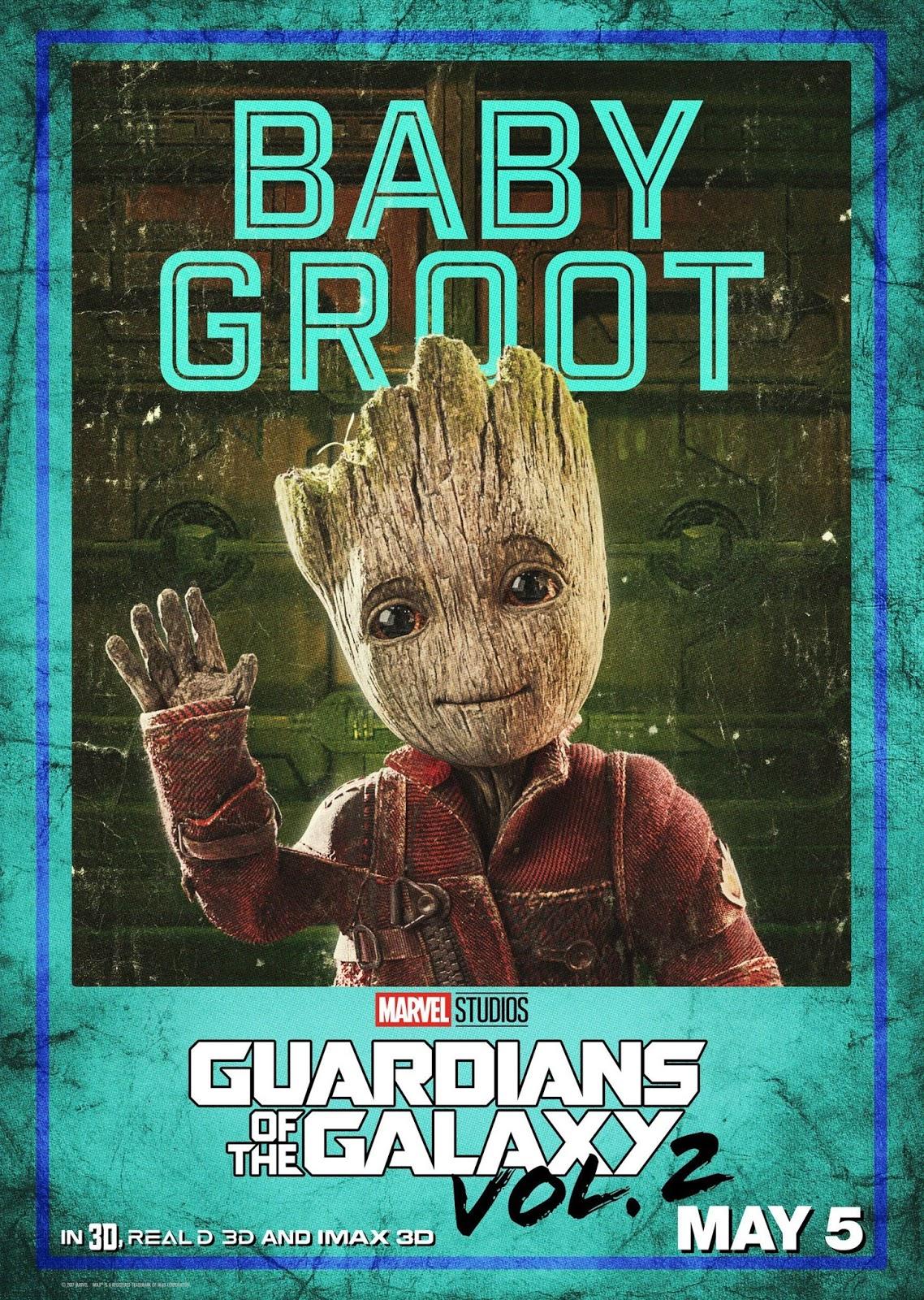 Стражи Галактики Часть 2, Guardians of the Galaxy Vol 2, малыш Грут, Грут, Baby Groot, Groot