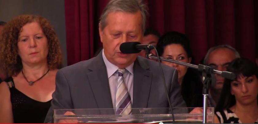 Με αιχμές η πρώτη ομιλία του νέου δημάρχου Πασχάλη Γκέτσιου! (βίντεο)