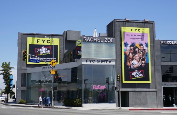 Jersey Shore Family Vacation 2018 Emmy FYC billboard