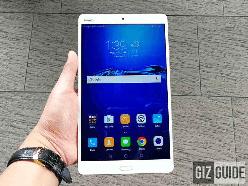 grade multimedia tablet designed for your amusement Huawei MediaPad M3 Tablet With Dual Harman Kardon Speakers Now In PH!