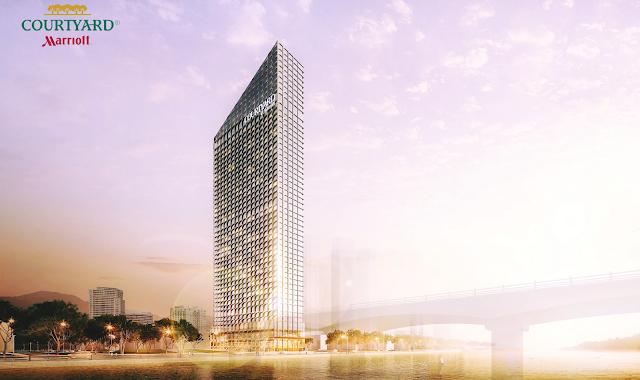 Phối cảnh tổng thể của dự án Marriott Đà Nẵng