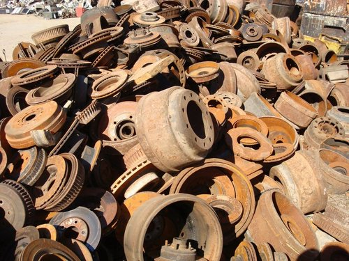 Slag Metal Scraps : Iron scrap ideal for use in construction and automobile