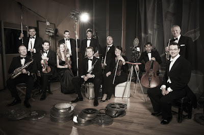 John Wilson and members of the John Wilson Orchestra