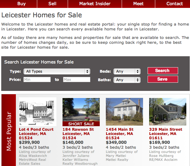 New Property To The Leicester Market