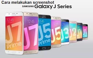 Cara screenshot Galaxy J1 J2 J5 dan J7 dengan cepat dan mudah
