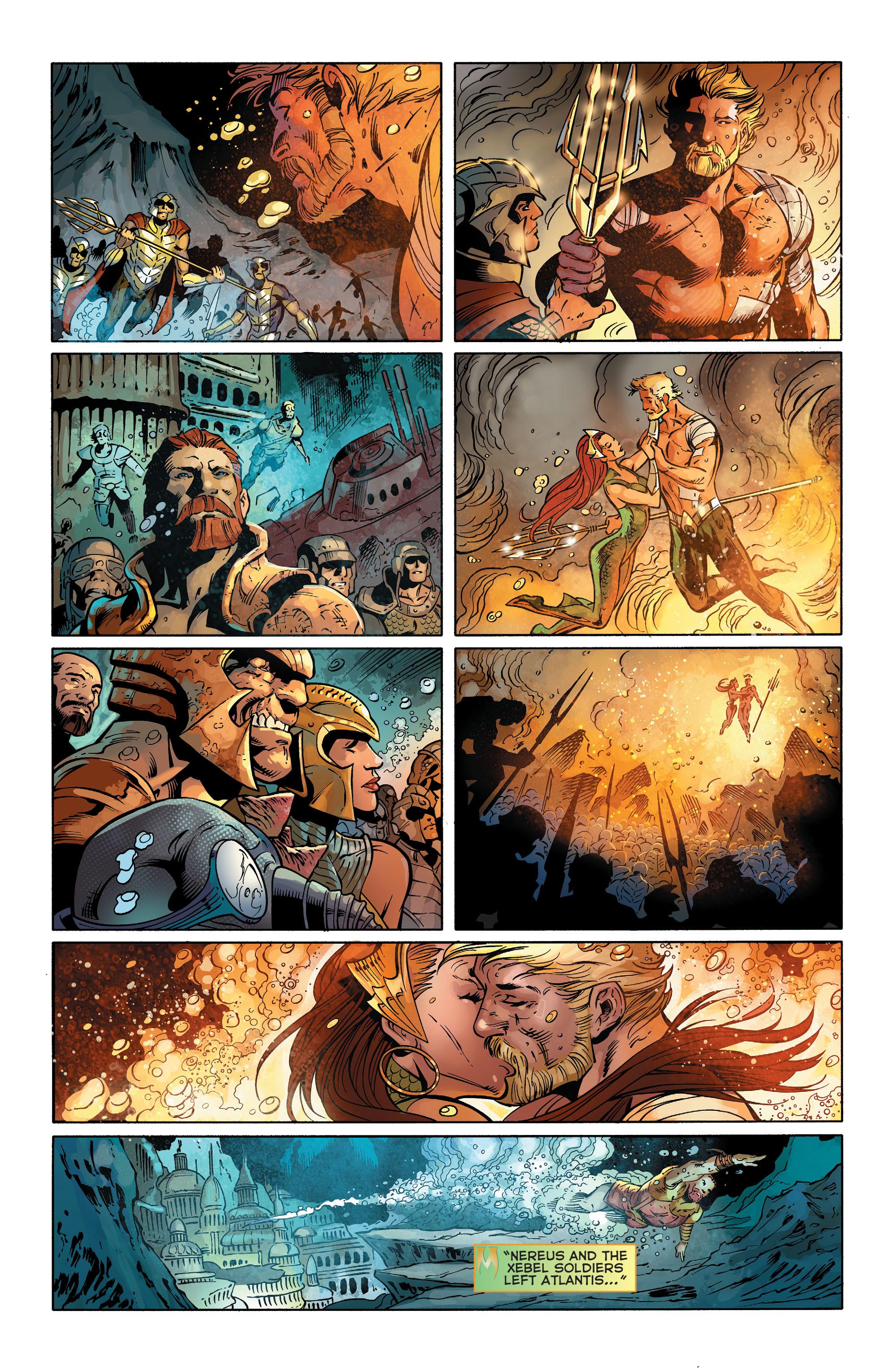 Read online Aquaman (2011) comic -  Issue #25 - 19