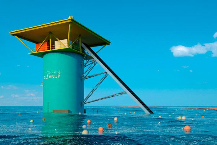 Bienvenido mayo. Ocean Cleanup