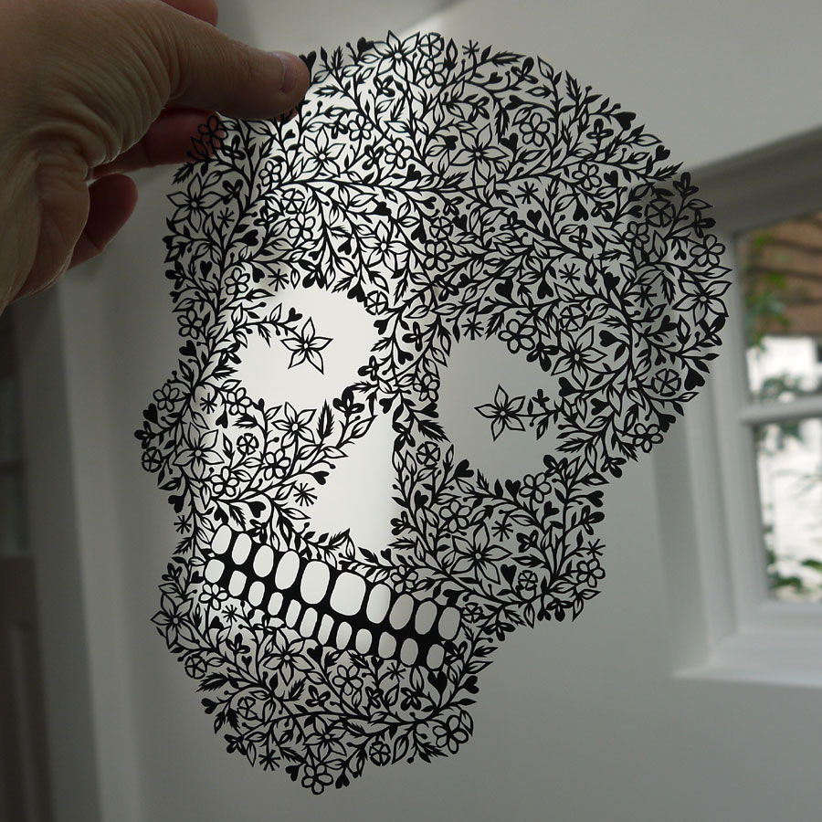 Suzy Taylor cut paper illustration
