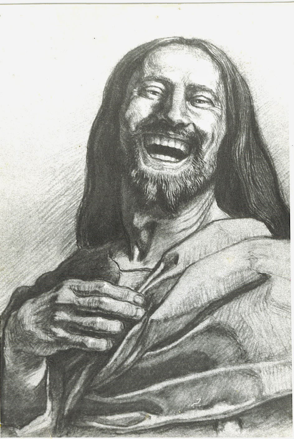 Images Of Jesus Laughing : images, jesus, laughing, Minister's, Musings:, Human