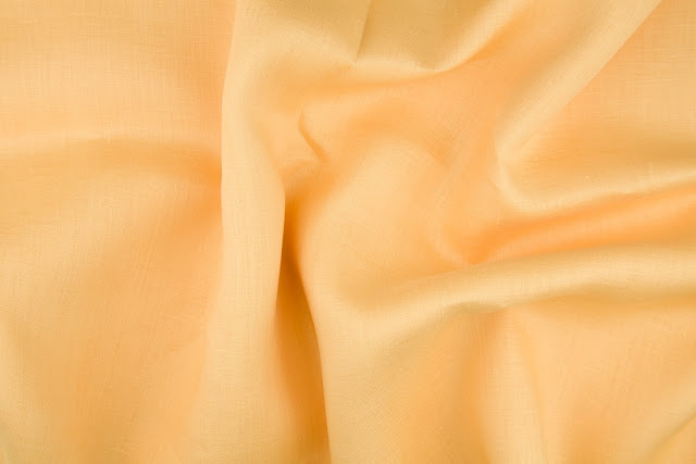 Gold Handkerchief Linen Fabric