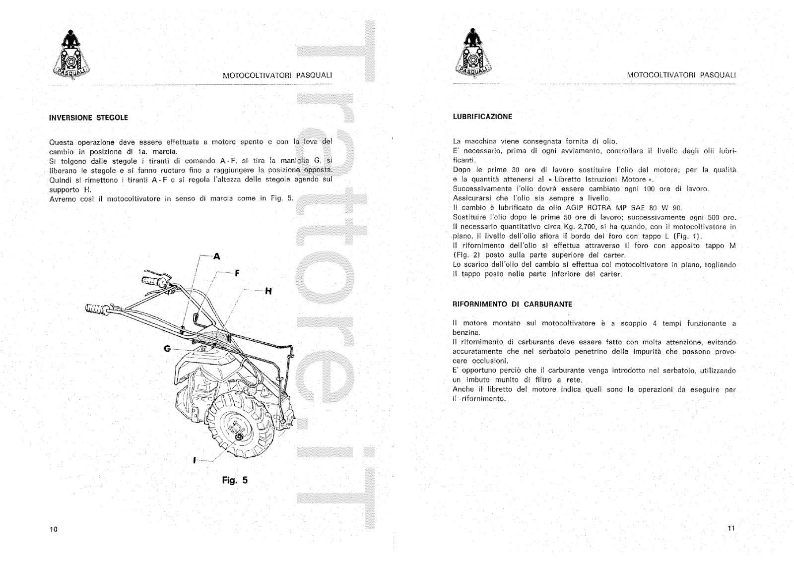 InfoTrattore.it: Motocoltivatore Pasquali 938 CV 10