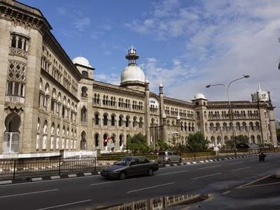 ≪マレーシア クアラルンプール≫ 市内観光 その1 クアラルンプール鉄道駅と国立モスク