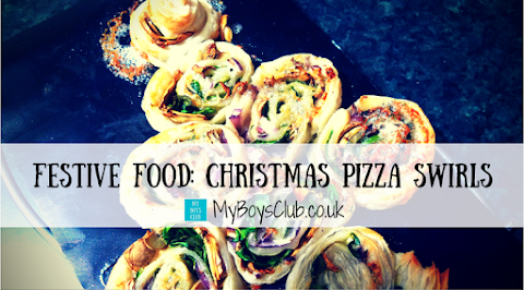 Festive Food: Christmas Tree Pizza Swirls