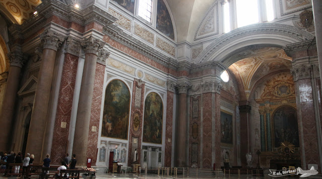 Basílica Santa Maria degli Angeli e dei Martiri, em Roma.