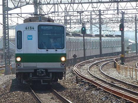 東京メトロ 千代田線明治神宮前行2 6000系(幕式)