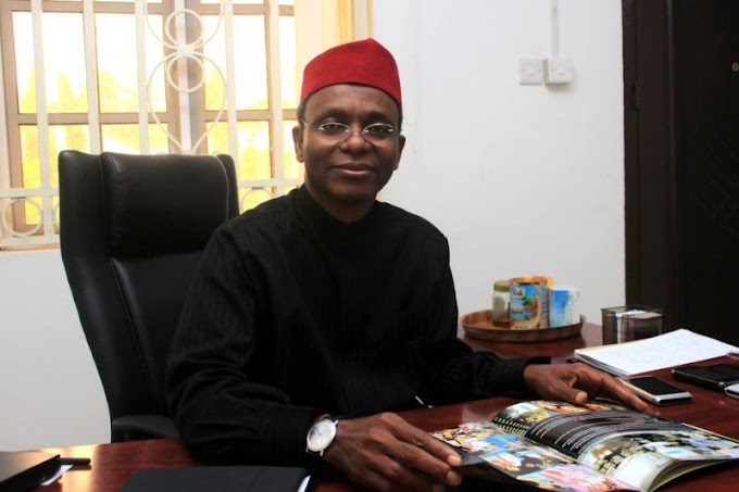 Governor Nasir El-Rufai Goes to Church [PHOTO]