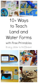 10+ Ways to Teach Land and Water Forms