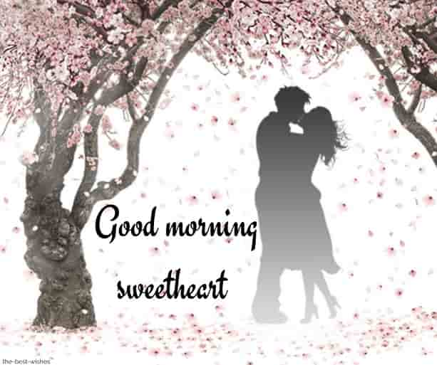 romantic good morning sweetheart images