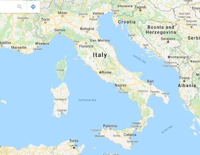 Geografi Italia