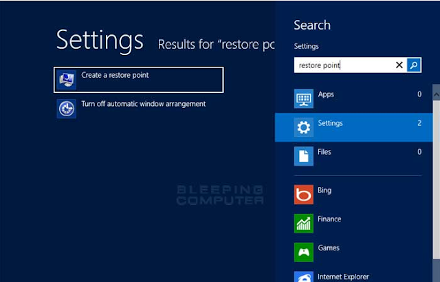 cara membuat restore point di windows 8,  cara membuat system restore windows 10,  cara membuat restore point windows 10,  cara membuat restore point windows 7, cara melihat restore point windows 7,  cara restore point windows 10