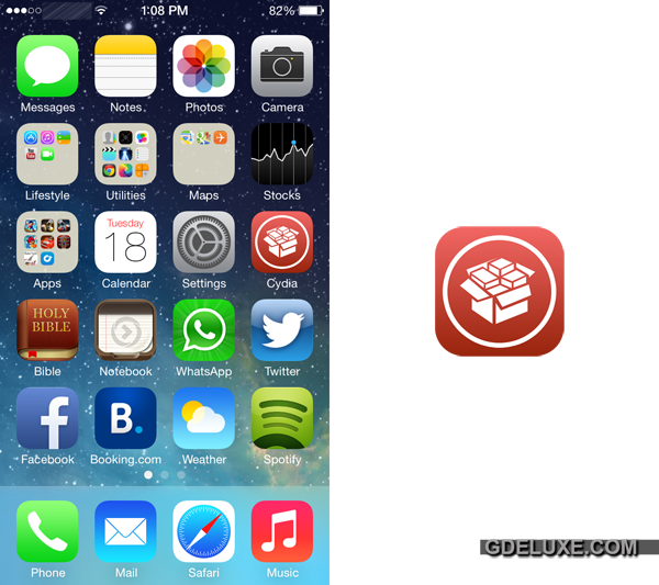 Cydia Ios 7 On Iphone 5 Or Iphone 4s