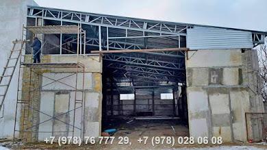 Строительство ЛСТК Крым