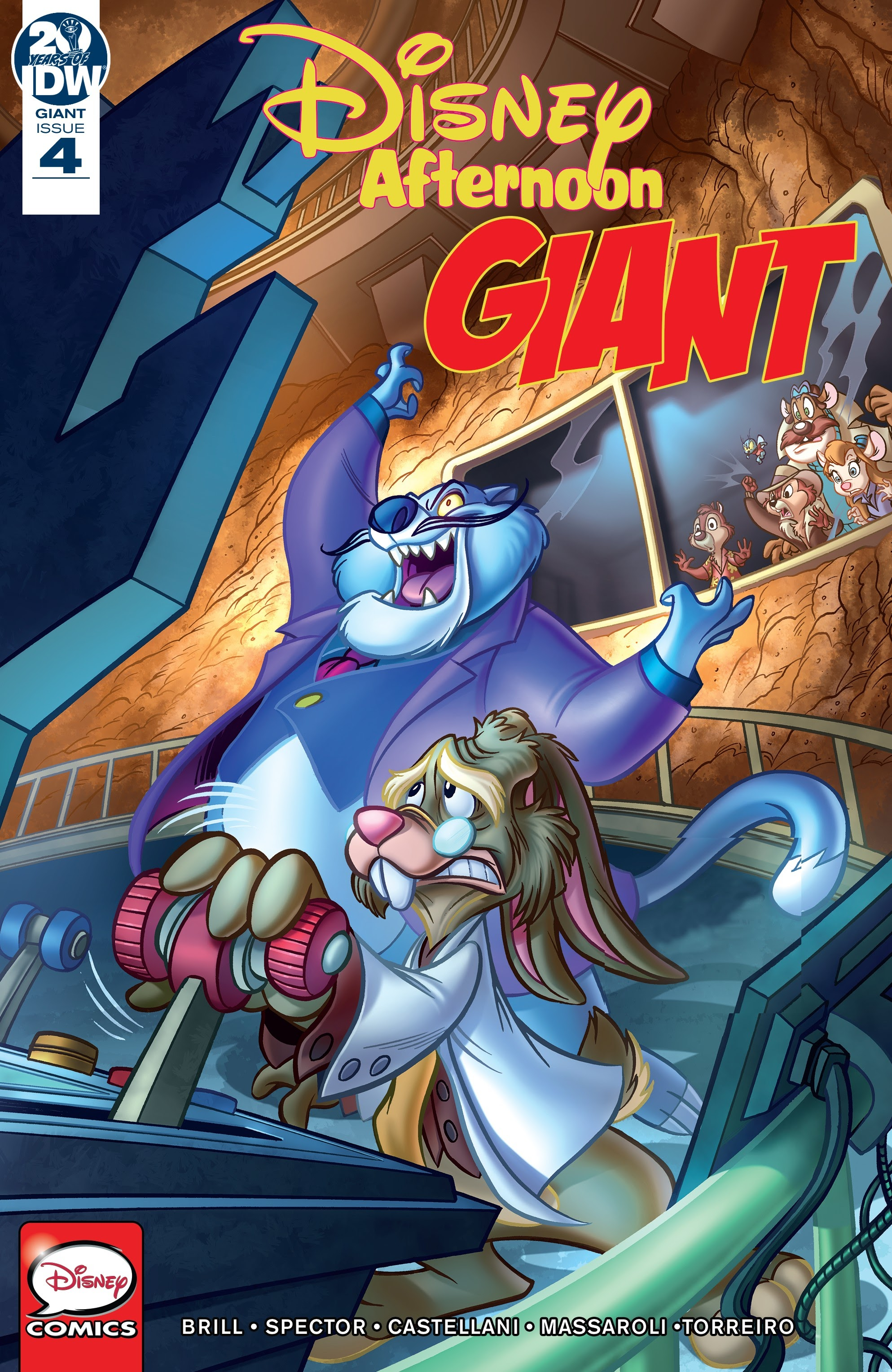 Disney Afternoon Giant 4 Page 1