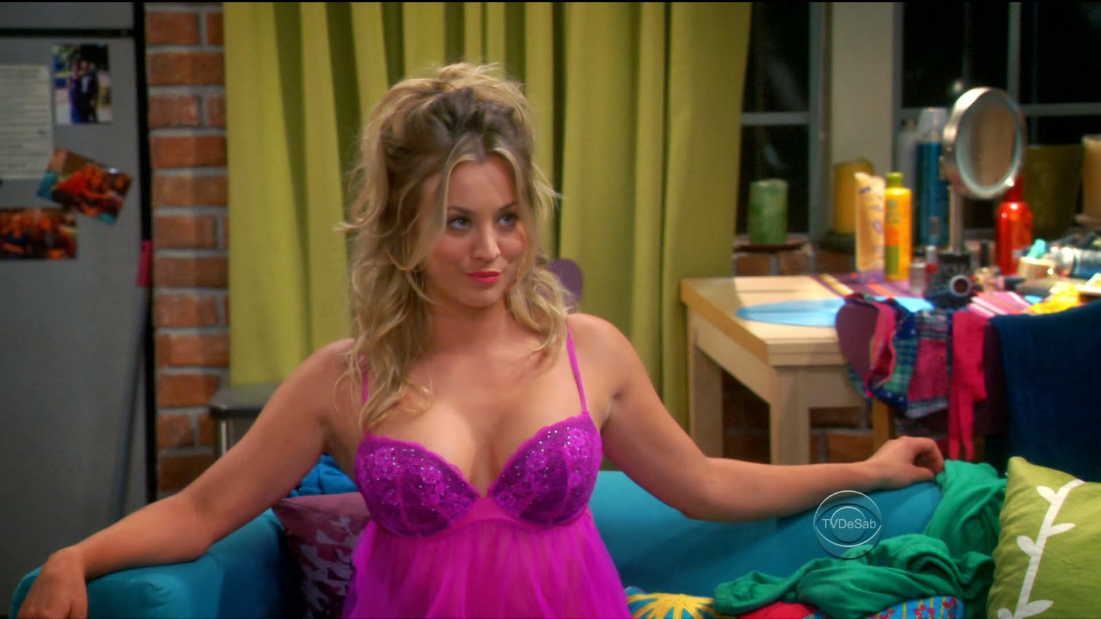Kaley cuoco big bang