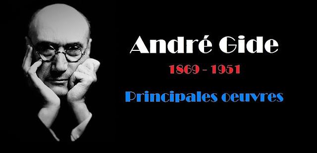 L'écrivain français : André Gide