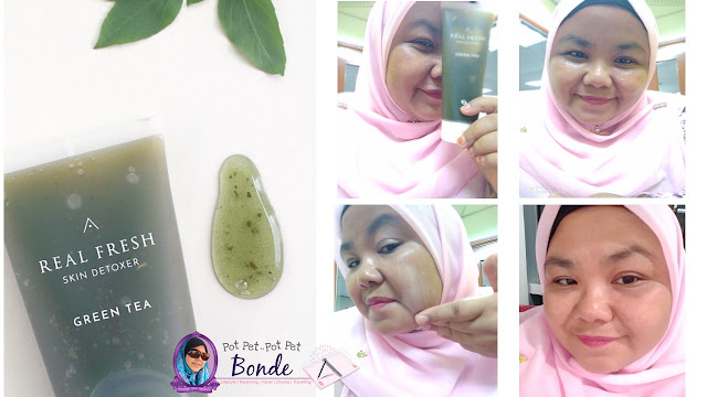 REAL SKIN FRESH DETOXERS, MENARIK TENTANG REAL SKIN FRESH DETOXERS,Real Fresh Skin Detoxer - Rose : Refining,Real Fresh Skin Detoxer - Green Tea : Purifying,