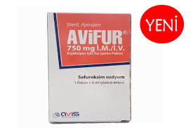 AVIFUR IM/IV 250 mg Enjeksiyon İçin Toz İçeren Flakon