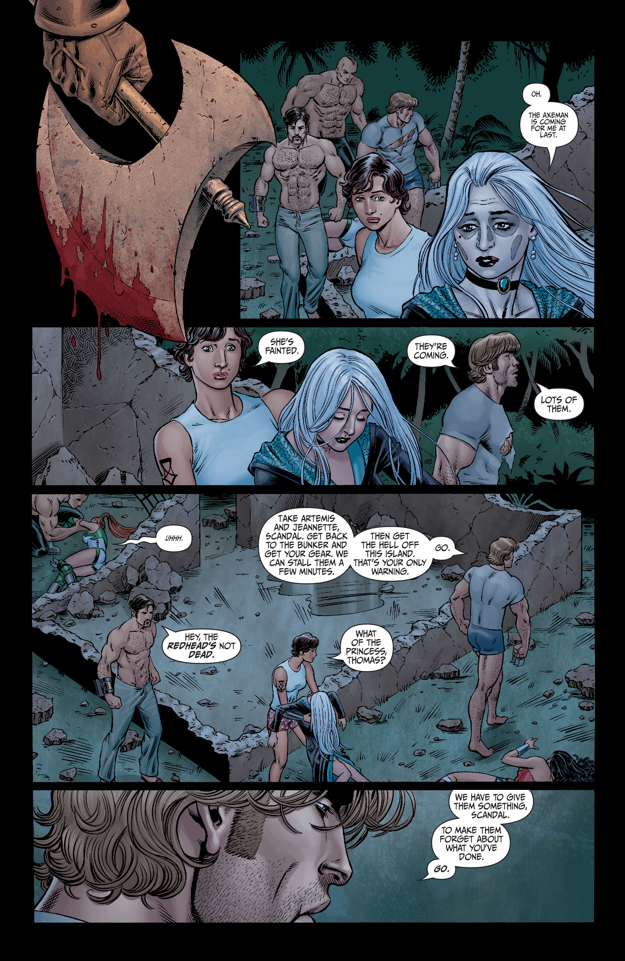 Read online Secret Six (2008) comic -  Issue #12 - 15